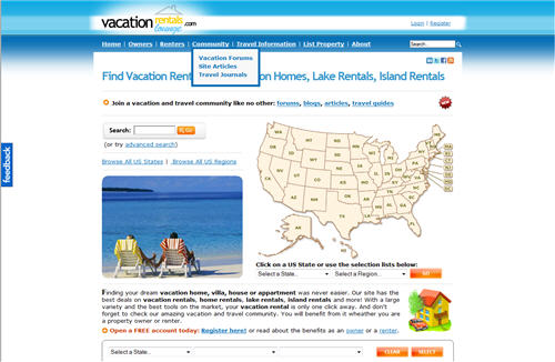 Vacation Rentals Lounge