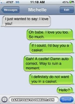 Iphone funny autocorrect buy casket