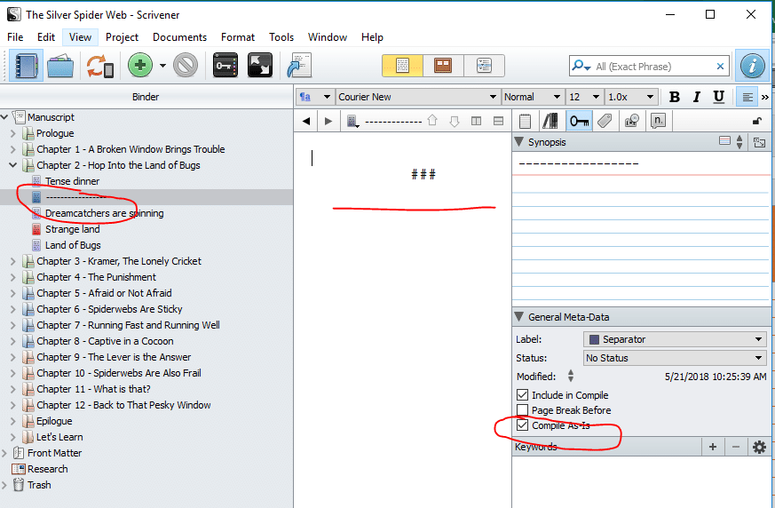 scrivener usage 09